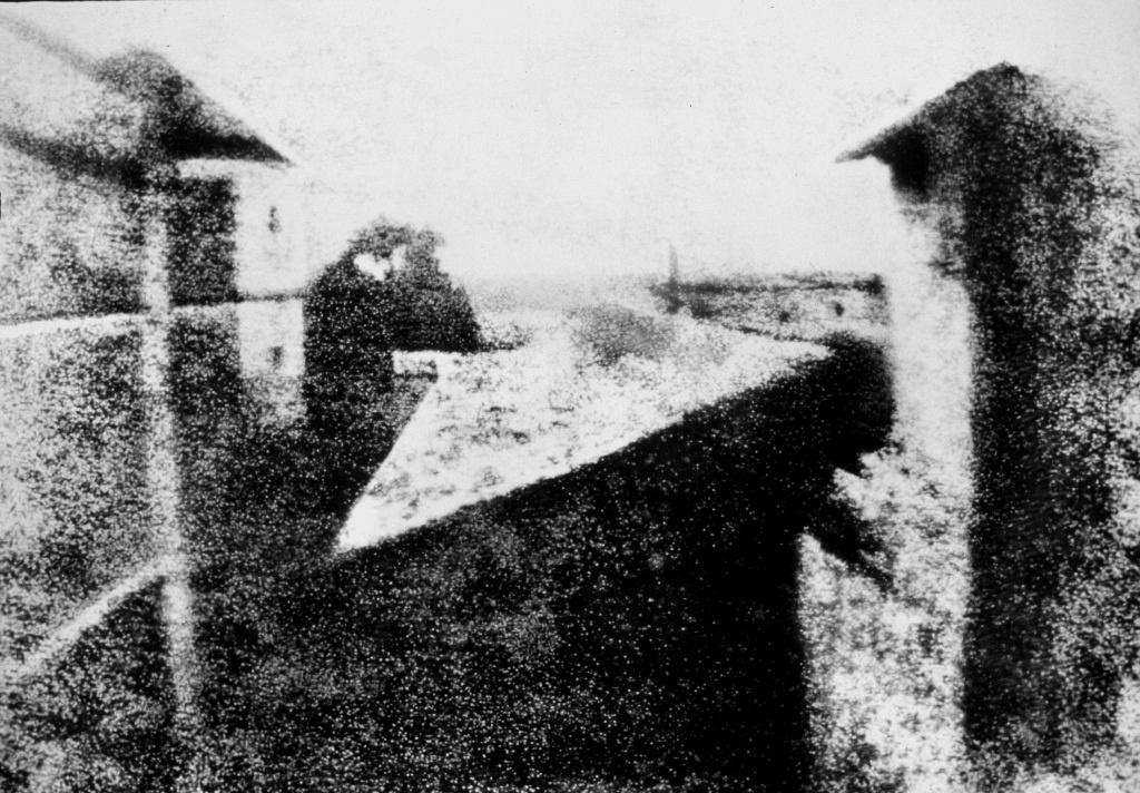 04 - Nicéphore Niépce - Point de vue du Gras
