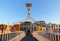 Ha'penny Bridge - Dublin