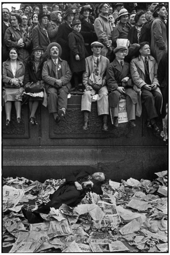20 - Cartier Bresson - Coronation of King George VI